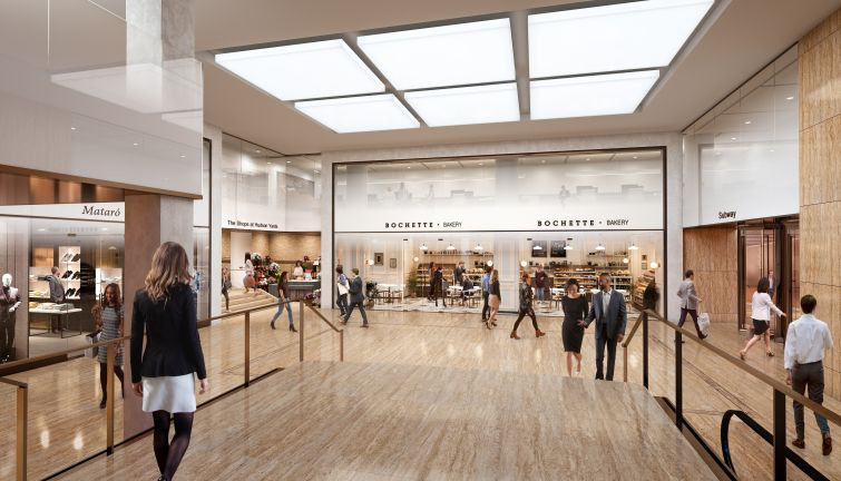 A passageway will connect the building to the Shops & Restaurants, which have extensive dining options.