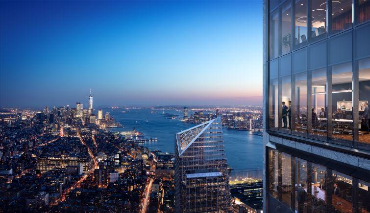 50 Hudson Yards view