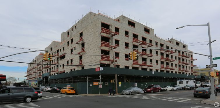 Construction at 1560 60th Street in Brooklyn.