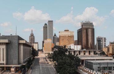 Downtown Tulsa.