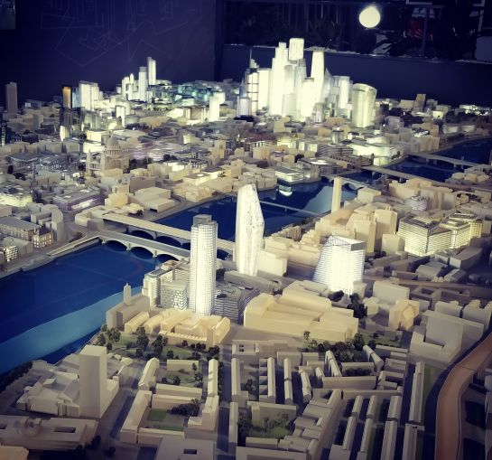 The city of London in miniature at MIPIM.
