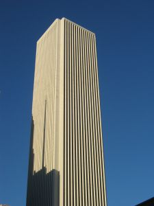 The Aon Center, site of JLL's global headquarters in Chicago.