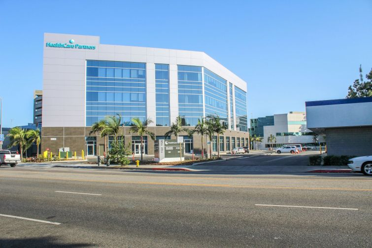 The medical office campus in Los Angeles.