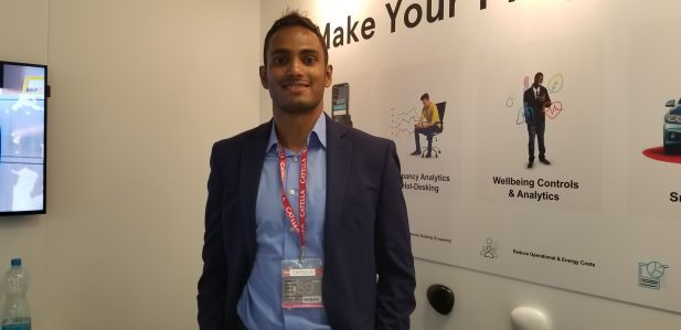 Aakash Ravi, a co-founder of Spaceti and the company's chief business officer.