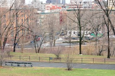 Morningside Park in Manhattan.