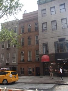 A shot of the current building at 148 East 78th Street, pre-development.