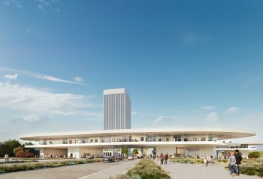 Rendering of Peter Zumthor's LACMA redesign.