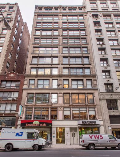 35 West 36th Street.