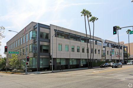 8942 Wilshire Boulevard, one of two Beverly Hills office properties Breevast bought last week.