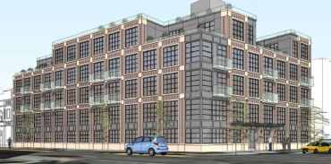 A rendering of 93 Linden Street.