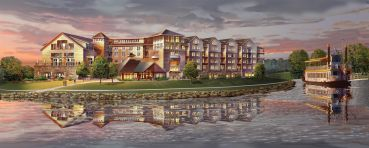 A rendering of Canandaigua Finger Lakes Resort.