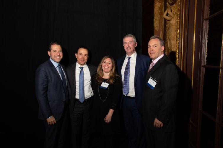 From left to right: Josh Zegen,  Ronnie Levine, Elsa Ben Shimon, Dennis Shuh, Chris Tokarski.