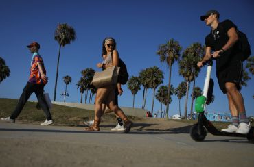 E-scooters from Lime have become an ever more important part of the commercial real estate landscape.