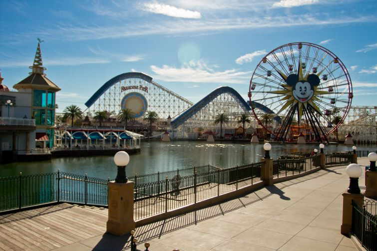 The Disneyland California Adventure park.