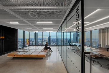 Stock exchange company IEX Group moved into its new offices in 3 World Trade Center last fall.