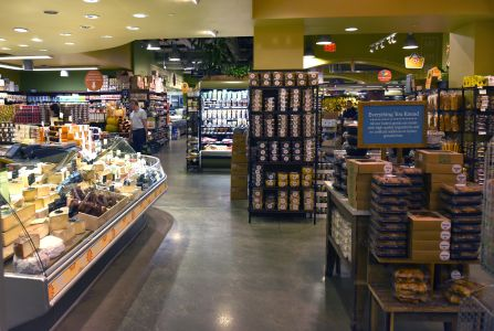 A Whole Foods supermarket.