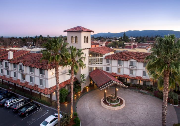 The DoubleTree by Hilton hotel in Campbell, Calif.