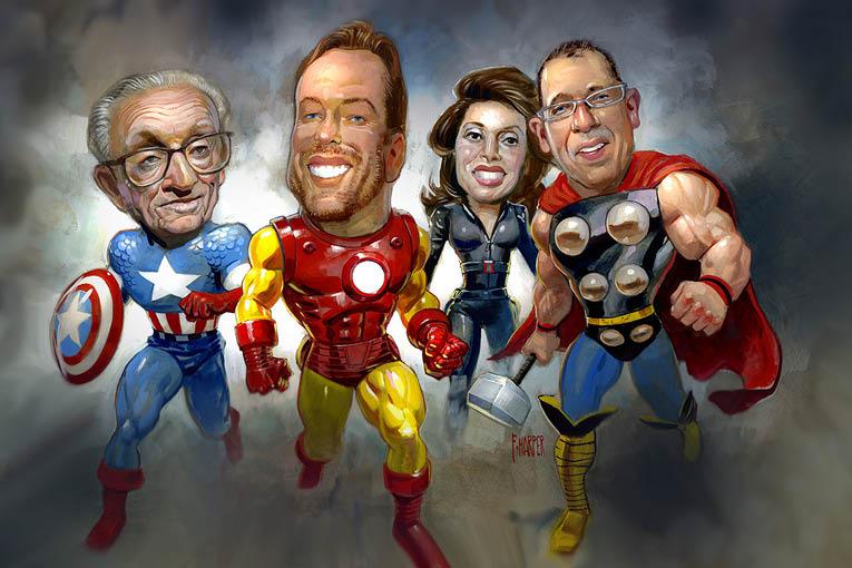 power 100 2019 avengers