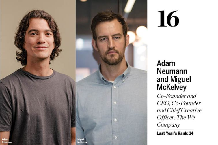 wework power 100 2019