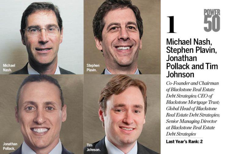 Michael Nash, Stephen Plavin, Jonathan Pollack and Tim Johnson.