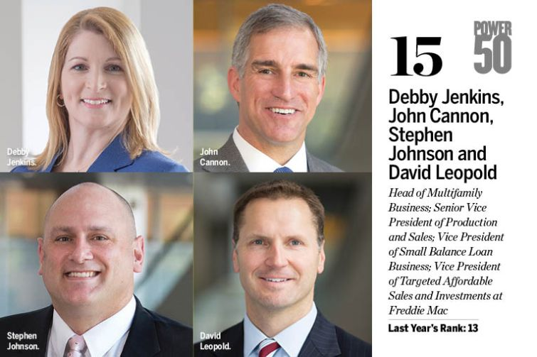 Debby Jenkins, John Cannon, Stephen Johnson and David Leopold.