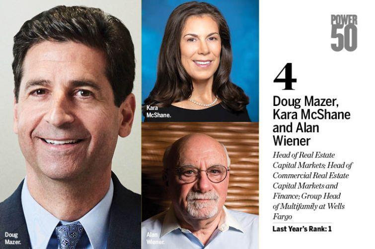Doug Mazer, Kara McShane and Alan Wiener.