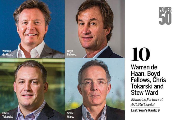 Warren de Haan, Boyd Fellows, Chris Tokarski and Stew Ward.