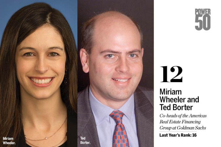 Miriam Wheeler and ted Borter.