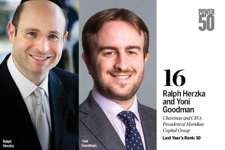 Ralph Herzka and Yoni Goodman.