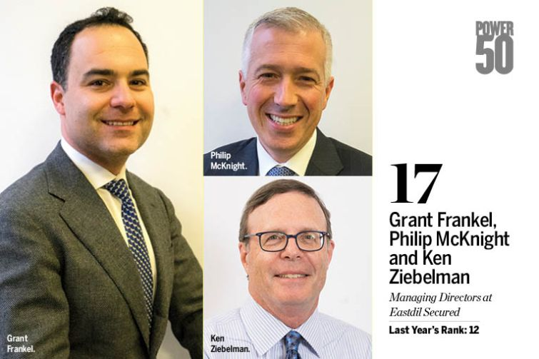 Grant Frankel, Philip McKnight and Ken Ziebelman.