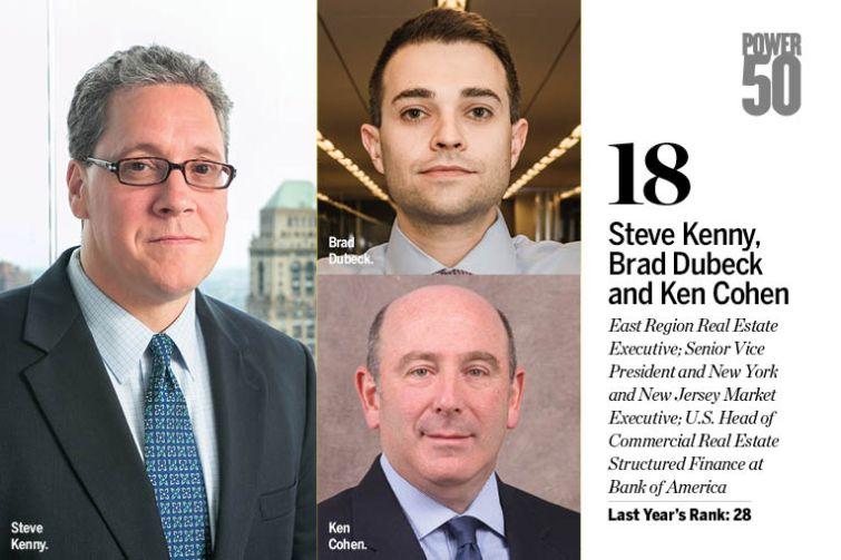 Steve Kenny, Brad Dubeck and Ken Cohen.