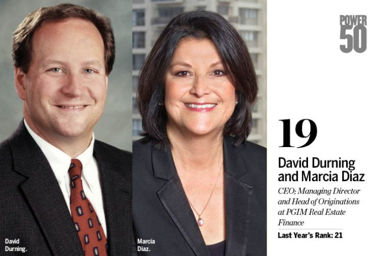 David Durning and Marcia Diaz.