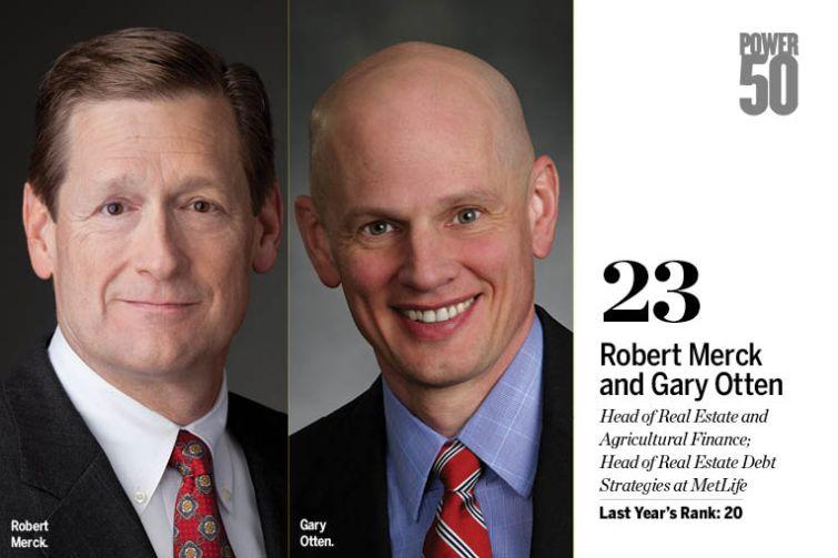 Robert Merck and Gary Otten.