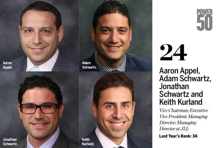 Aaron Appel, Adam Schwartz, Jonathan Schwartz and Keith Kurland.