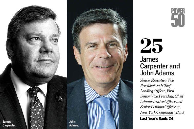 James Carpenter and John Adams.