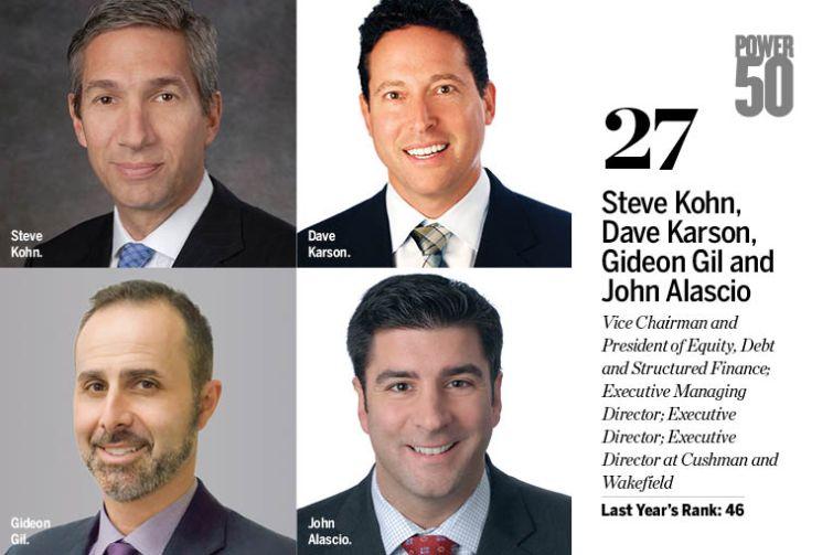 Steve Kohn, Dave Karson, Gideon Gil, John Alascio.