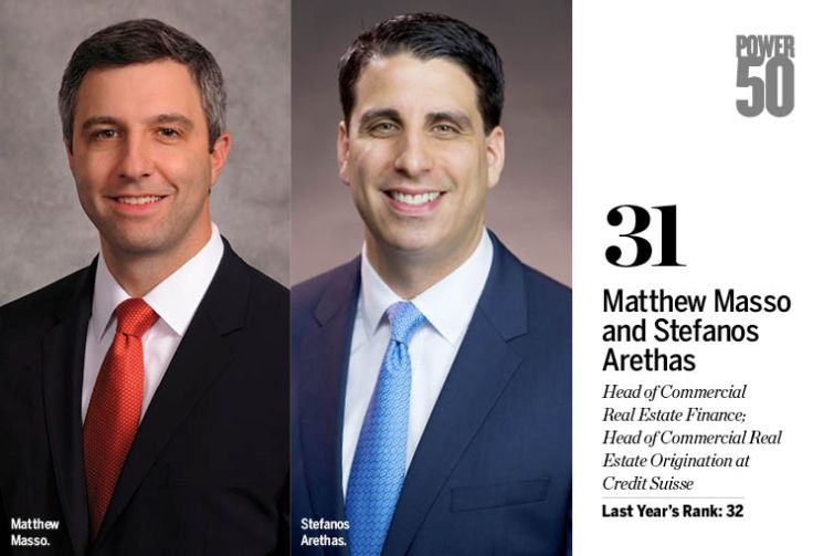 Matthew Masso and Stefanos Arethas.