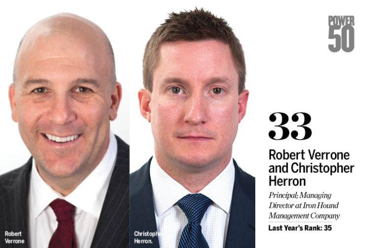 Robert Verrone and Christopher Herron.