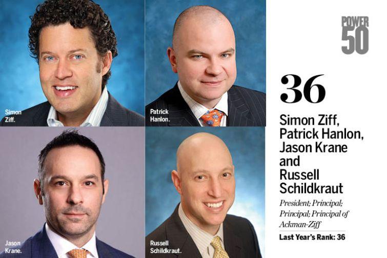 Simon Ziff, Patrick Hanlon, Jason Krane and Russell Schildkraut.