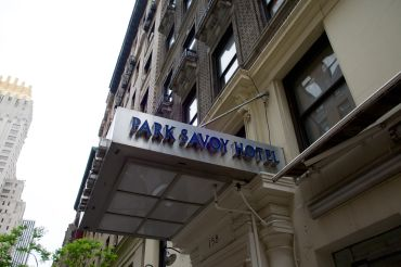 Park Savoy Hotel at 158 West 58th Street.