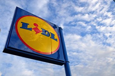 A general view of a Lidl supermarket in Glasgow, Scotland.