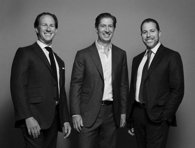 From left: Adam Tantleff, Brian Shatz and Josh Zegen