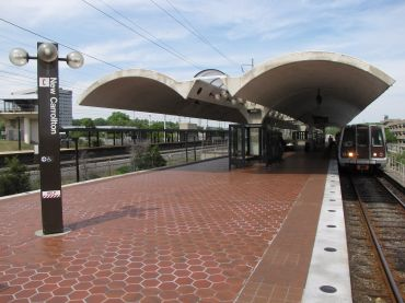 New Carrolton Metro Station