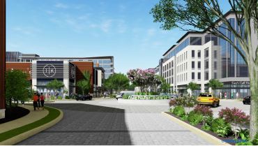 A rendering of the campus in Wilmington, Del.