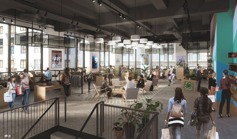 "Portions of the first three floors will be converted to a ""retail cooperative"" with stalls for direct-to-consumer brands that don't have brick and mortar stores."