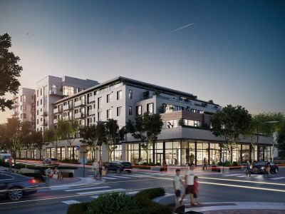 A rendering of the finished 255 St. Paul Street.