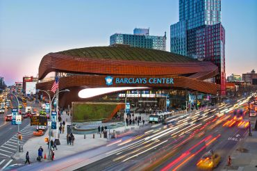 BARCLAYS CENTER, EASILY ACCESSIBLE IN THE HEART OF BROOKLYN