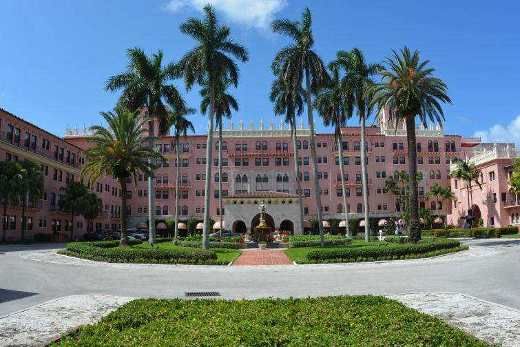 The Boca Raton Resort & Club in Boca Raton, Fla.