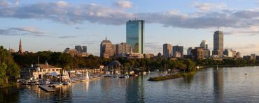 Boston skyline.