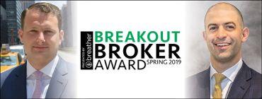 Breakout Broker Award: Benjamin Birnbaum and Ben Shapiro, Newmark Knight Frank